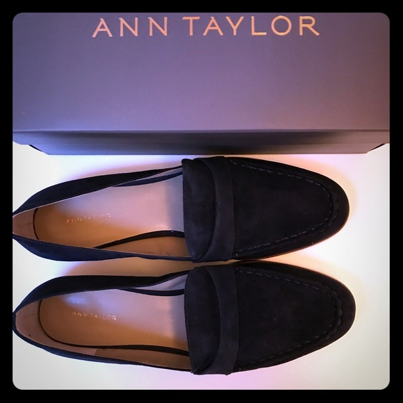 7617e6558f1 Audriana Suede Loafers - 11M Navy Blue. New